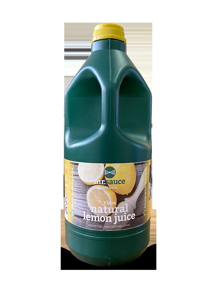 Mr Sauce 2L Lemon Juice